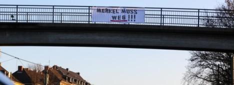 Widerstandskampf - Merkel muss weg